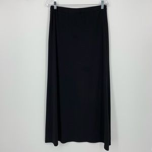 Michael Kors Long Black Skirt Size Medium
